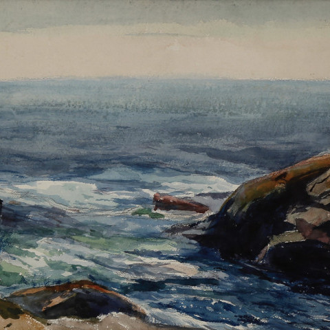 Monhegan Coast, Maine by George Gustav Adomeit