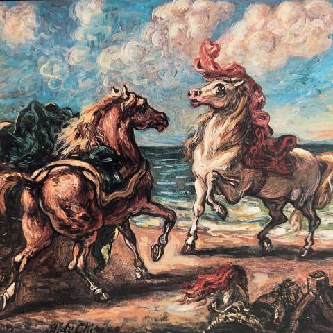 Horses by Giorgio de Chirico