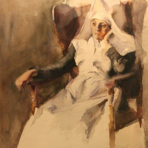 Grace Young - Nun in Contemplation