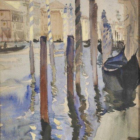 Venetian Canals by Henry George Keller