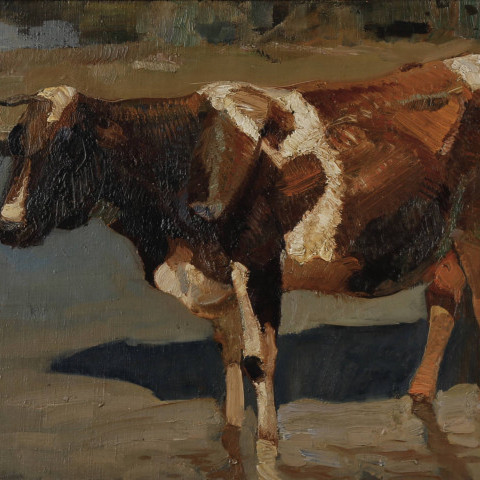 Handsome Cow  by Henry George Keller