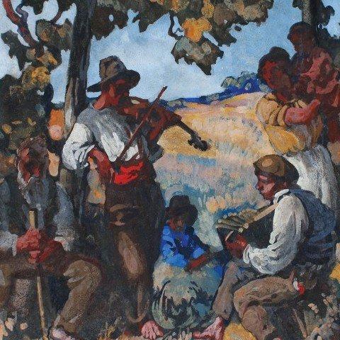 Italian Musicians / Quarrymen in Brecksville