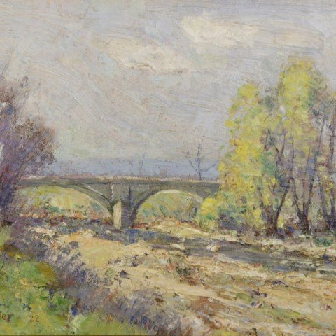 J.L. Sangster - Spring Landscape