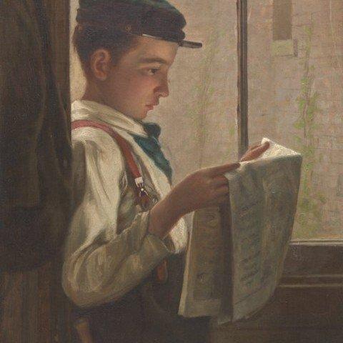 Newsboy by John Donaghy