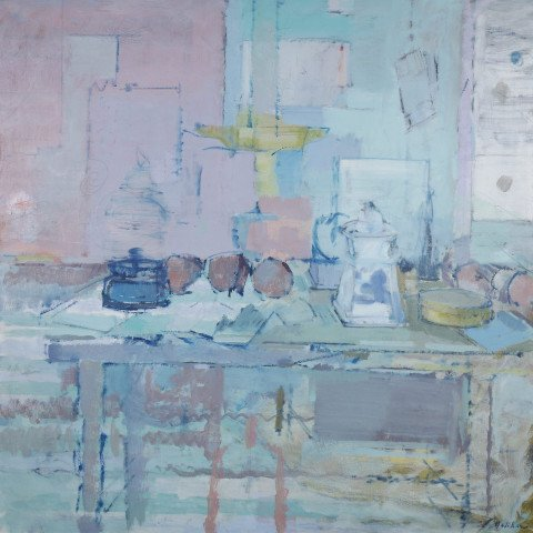 Still Life with Sugar Bowl by John Heliker