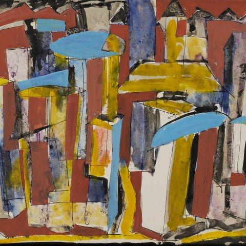 Cityscape by Kenneth Marcus Hugh