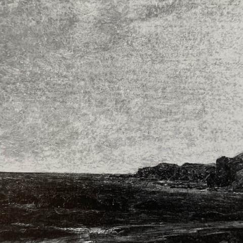 John Frederick Kensett - Rocky Seascape