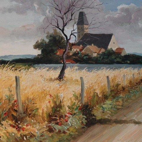 Marcel Dyf - Bretagne Landscape