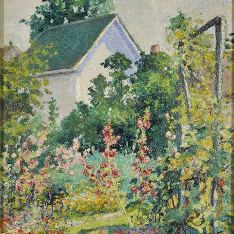 My Neighbor's Garden by May Lydia Ames
