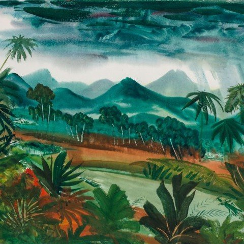 African Landscape by Paul Bough Travis