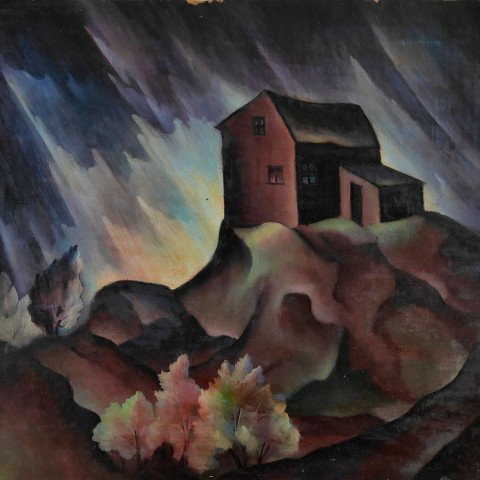 Stormy Sky in West by Harvey Gregory Prusheck