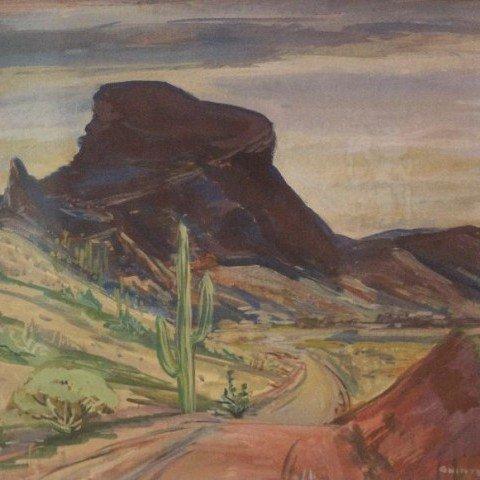 Quinter Young - Desert Landscape