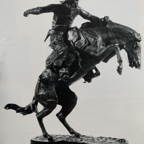 Frederic Remington - The Bronco Buster, 1895