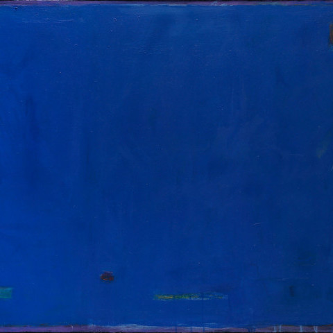 Roger Bollen - Untitled, Abstract in Blue