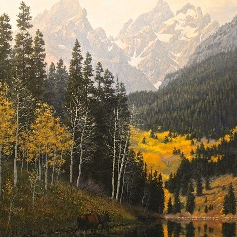 Teton Gold by Roger Ore