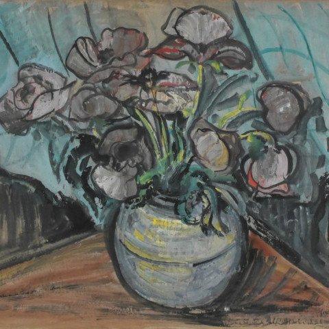 Floral Arrangement by Samuel A. Marx