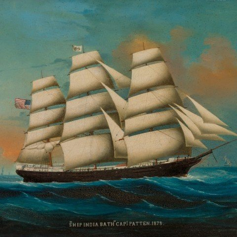 """Ship India Bath"" Captain Patten"