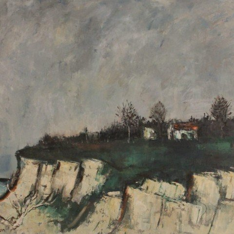 Sol Wilson-Small House on Dune Cliff