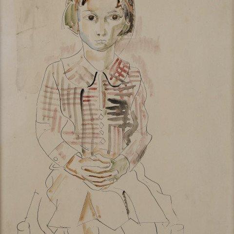 Little Girl by William Sommer