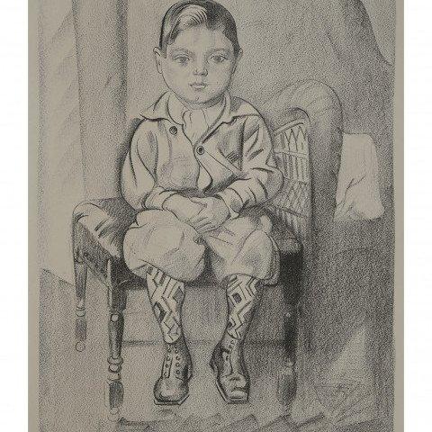 Sunday Boy by William Sommer