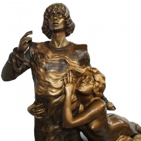 Louis Chalon - Tannhauser Bronze