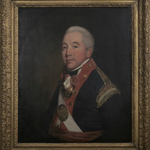Portrait of a Royal Artillery Officer by Thomas Beach