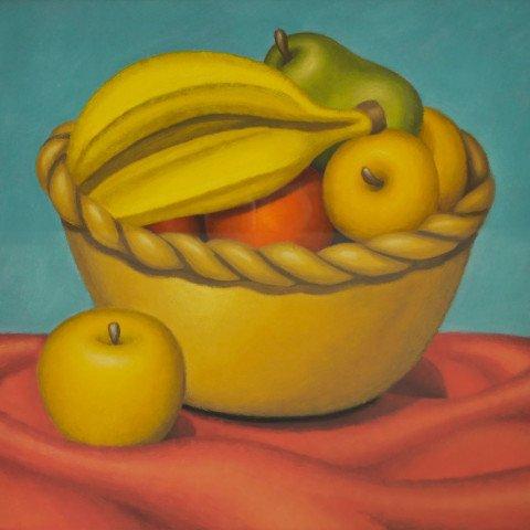 Fruit Bowl by Gretchen Troibner