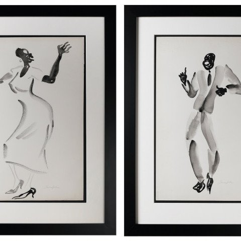 Savoy Dancers III by Virginia Berresford