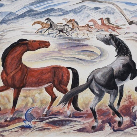 William C. Grauer - Wild Horses