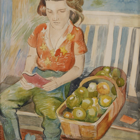 Green Apples by William Sommer