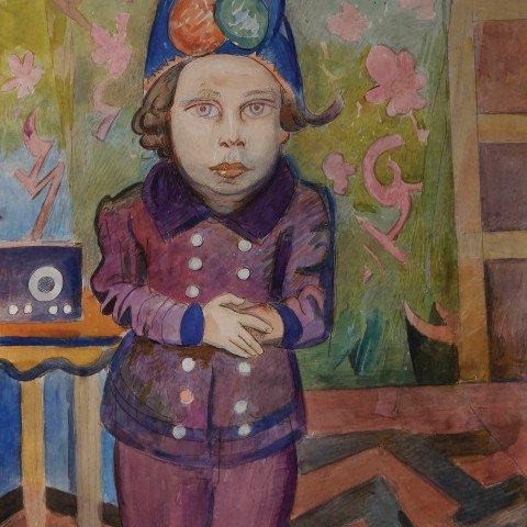 Musing Girl by William Sommer