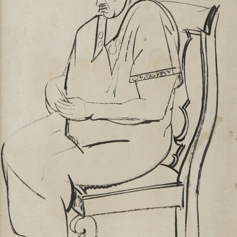 Seated Martha by William Sommer