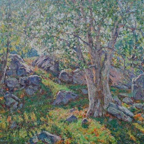 Summer Landscape by Wilson Henry Irvine