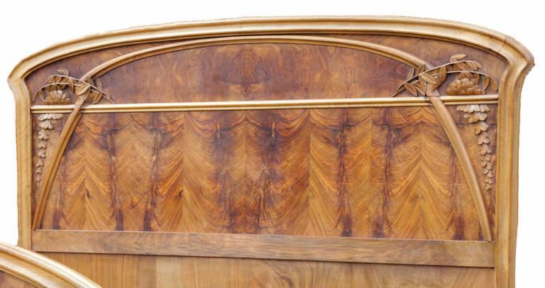 Terrific Art Nouveau Walnut And Pearwood Bedroom Set Inventory Download Free Architecture Designs Osuribritishbridgeorg