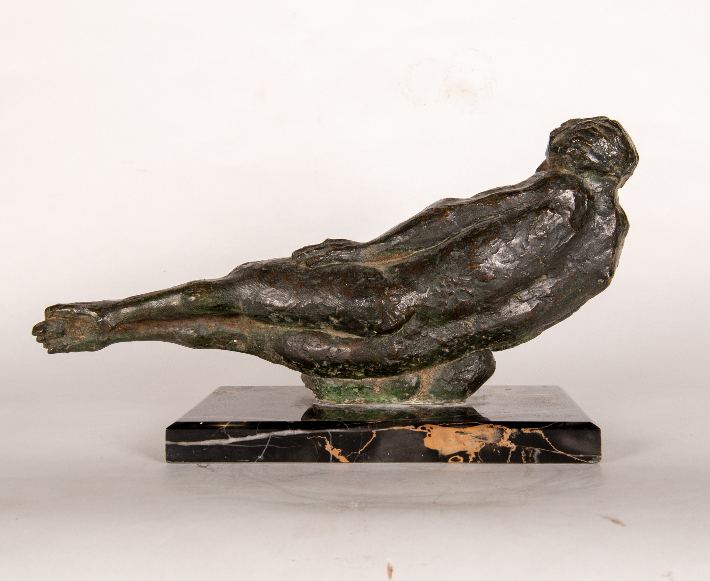 ALFREDO PINA | RECLINING FEMALE NUDE | 19th and 20th