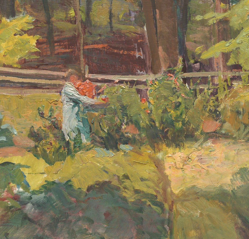 Vegetable Garden, Zoar, Ohio by George Gustav Adomeit