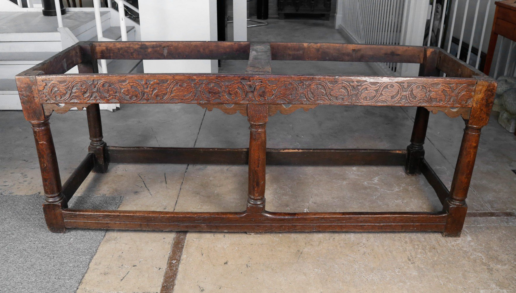 17thc. English Console/Library Table by 17thc. British