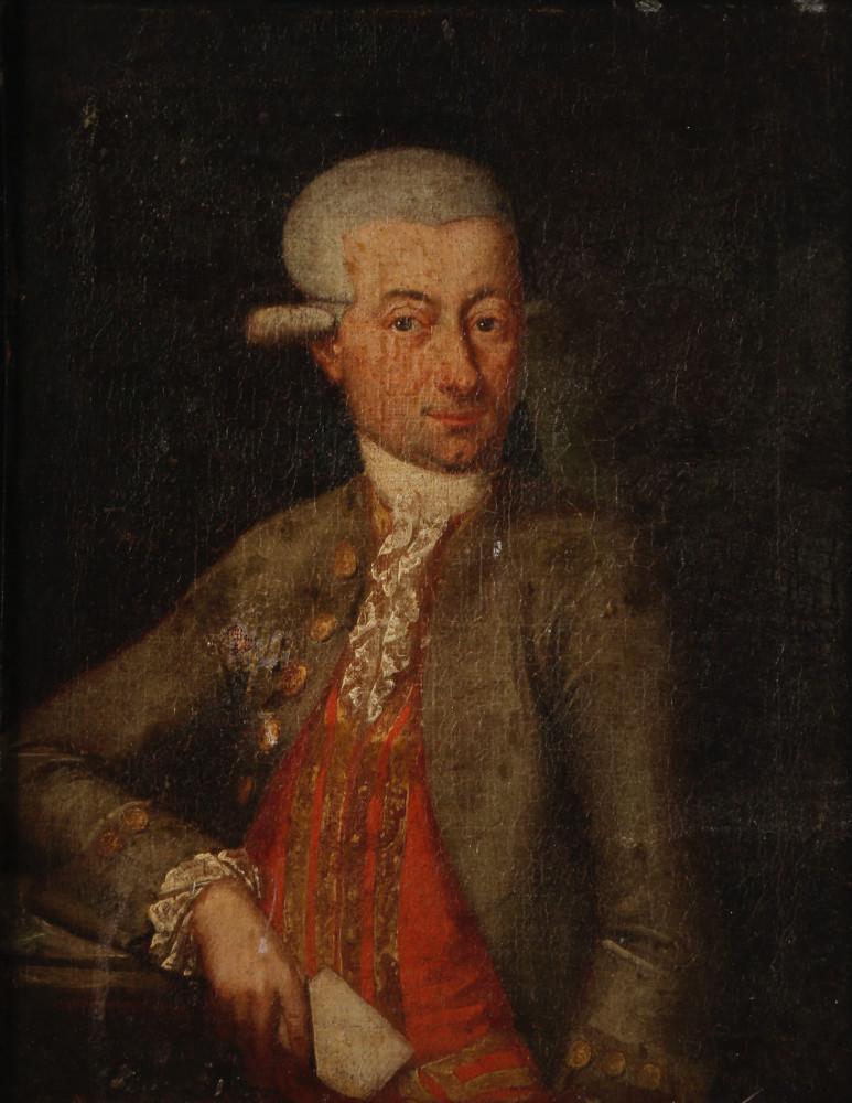 Portrait of Ignatius Nah by 18th Century Continental School