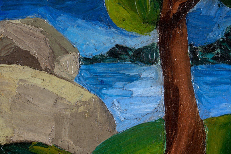 Coastal Landscape by 20th Century American School