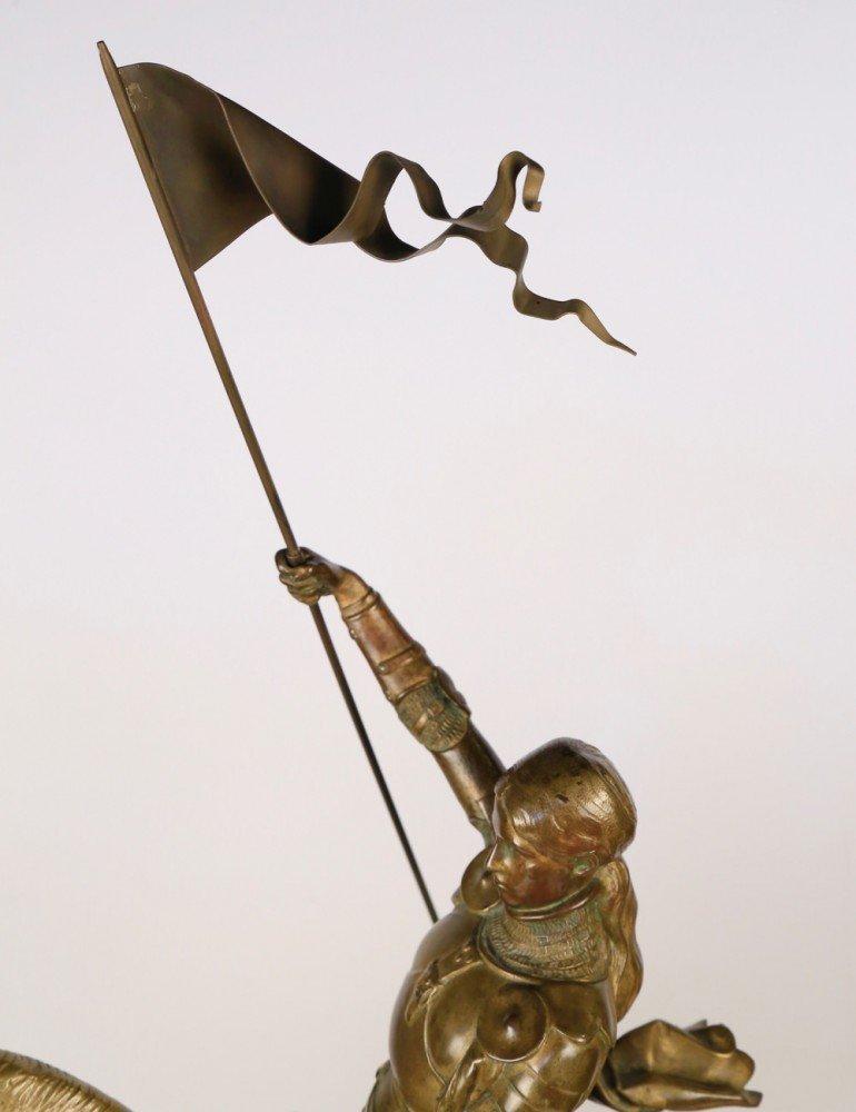 Jeanne d'Arc a Cheval by Emmanuel Fremiet