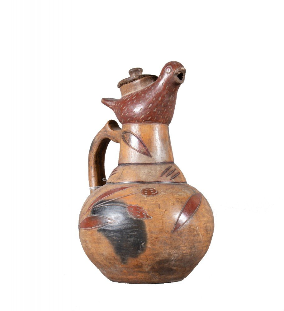 African Earthenware Pitcher, Early 20th Century