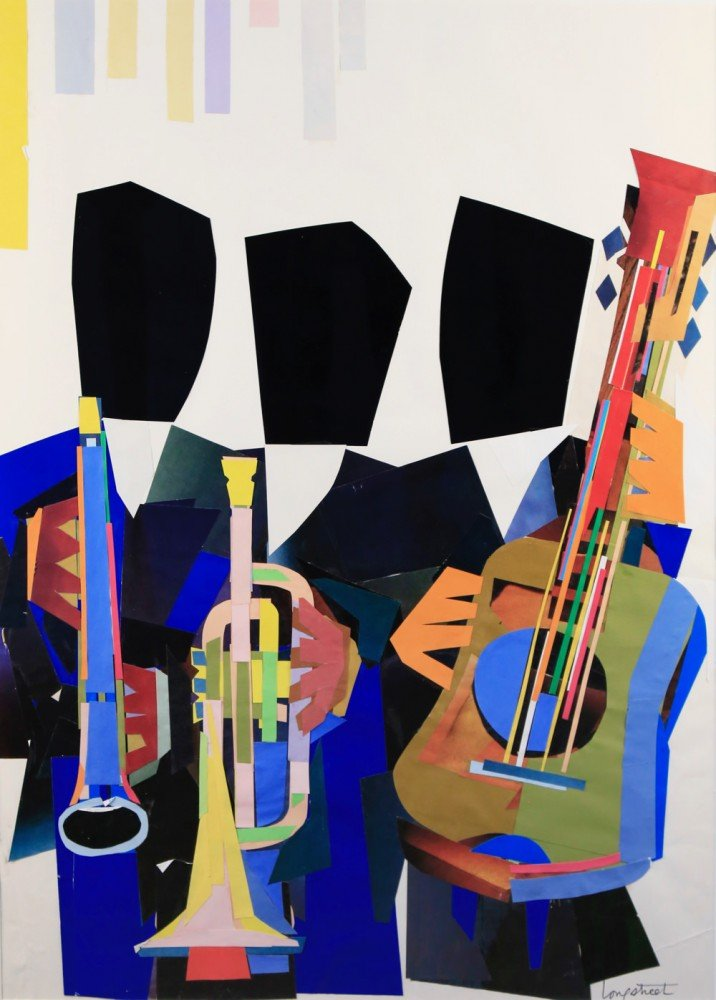 Jazz Trio by Stephen Longstreet
