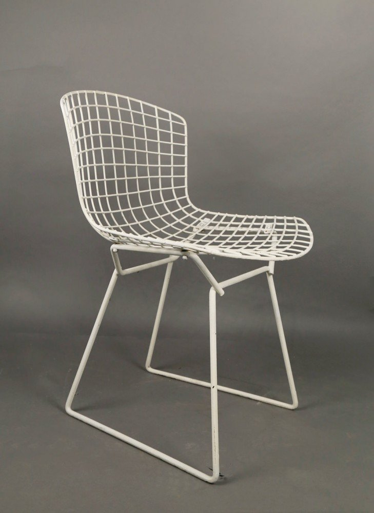 Set of Six Harry Bertoia Side Chairs for Knoll