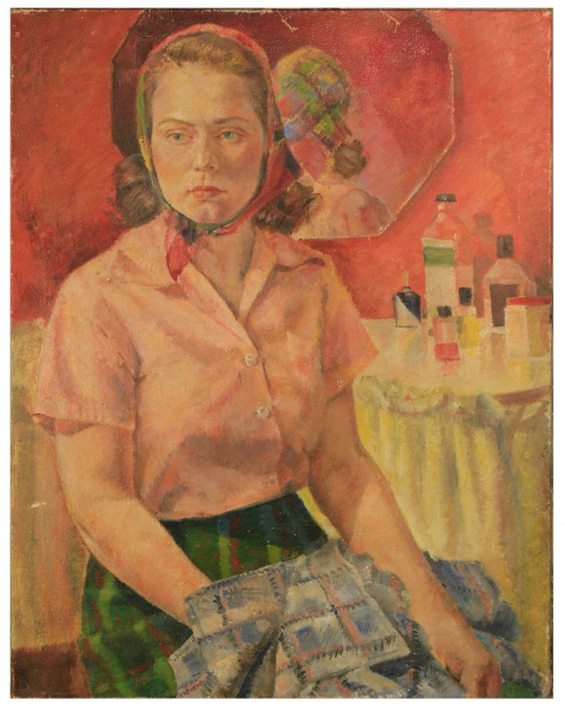 "William A. Van Duzer - ""The Pink Room"" by William A. Van Duzer"