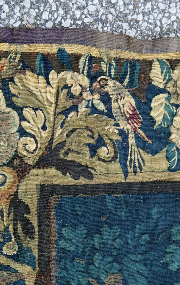 A Flemish Verdure Tapestry-17thc.