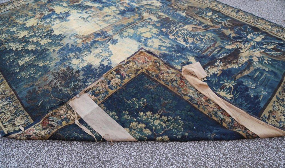 A Flemish Verdure Tapestry-17thc.
