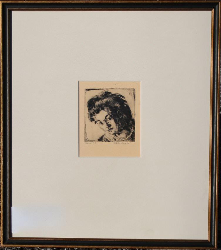 Clyde Singer (American 1908-1999) Head #6