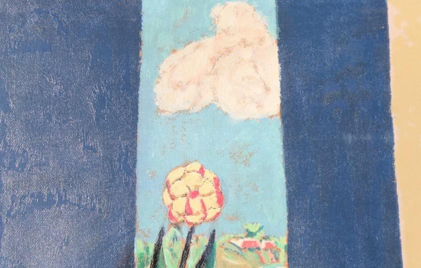 After Marsden Hartley (American 1877 - 1943) - Bermuda Window