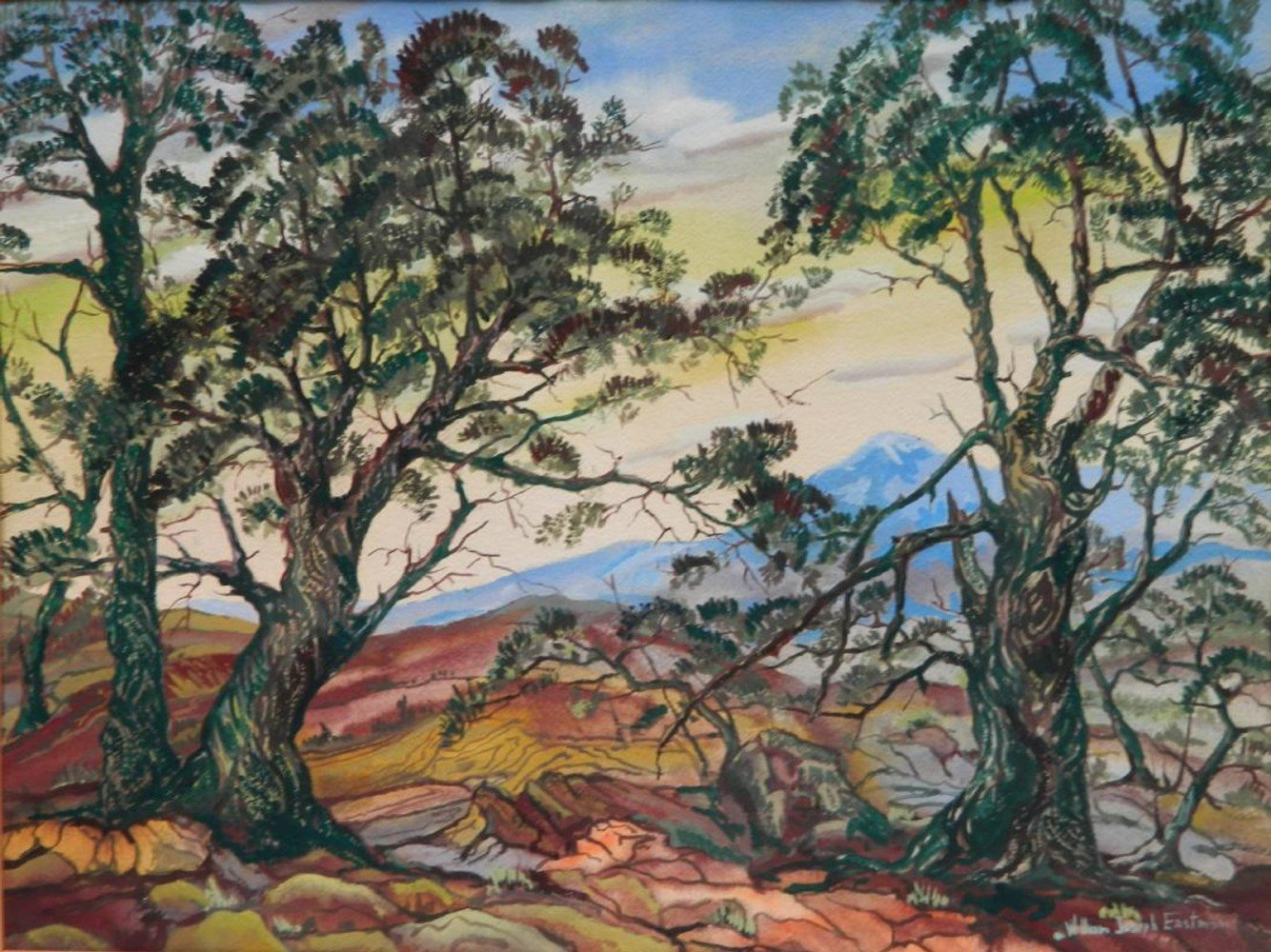 Landscape with Trees by William Eastman