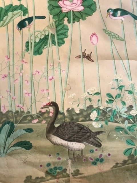 18th/19th Century Chinese Large Hand Painted Scroll